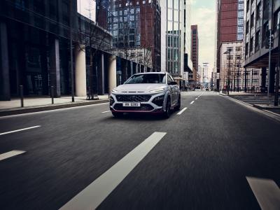 Hyundai Kona N (2022) | Les photos du petit SUV sportif