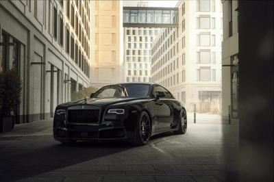 Rolls-Royce Wraith Black Badge Overdose   Les photos du coupé de luxe