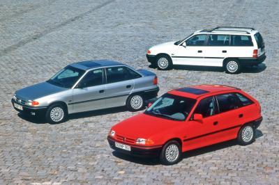Opel Astra F | Les photos de la compacte allemande des années 1990