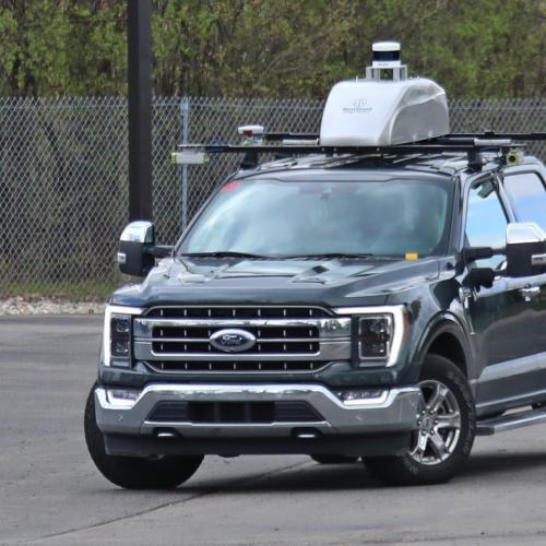Ford F-150 prototype | Les photos espion du système de conduite autonome