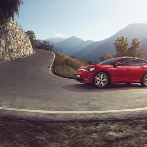 Volkswagen ID.4 GTX (2021) | Les photos du SUV électrique sportif