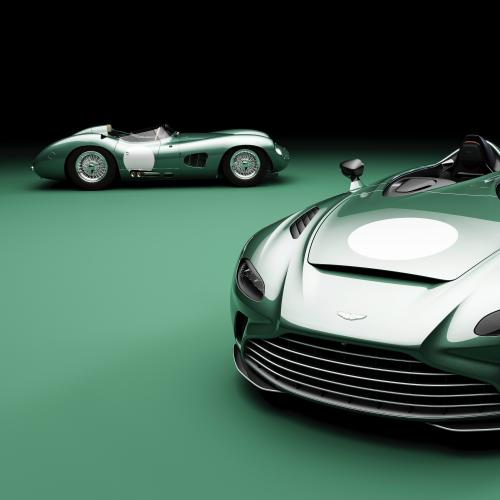 Aston Martin DBR1 V12 Speedster   Les photos de la sportive en livrée exclusive