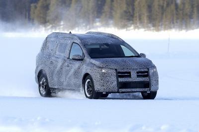 Dacia Logan MCV (2022) | Les photos espion du break