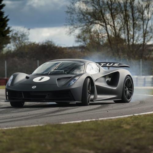 Lotus Evija (2021) | Les photos de l'hypercar électrique sur piste