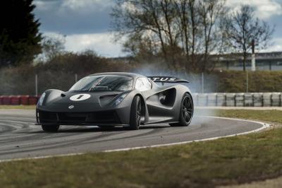 Lotus Evija (2021)   Les photos de l'hypercar électrique sur piste