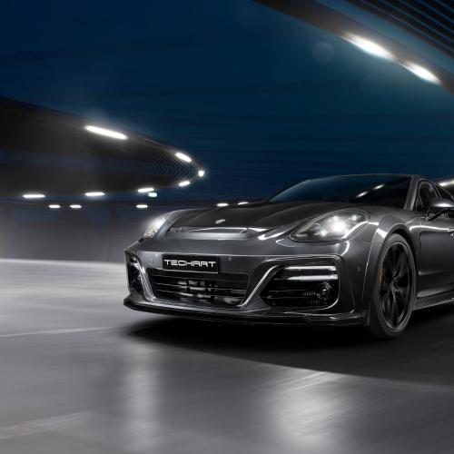 Porsche Panamera Techart GrandGT | Les photos de la belle allemande préparée