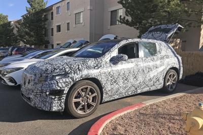 Mercedes EQS SUV | Les spy shots du crossover allemand