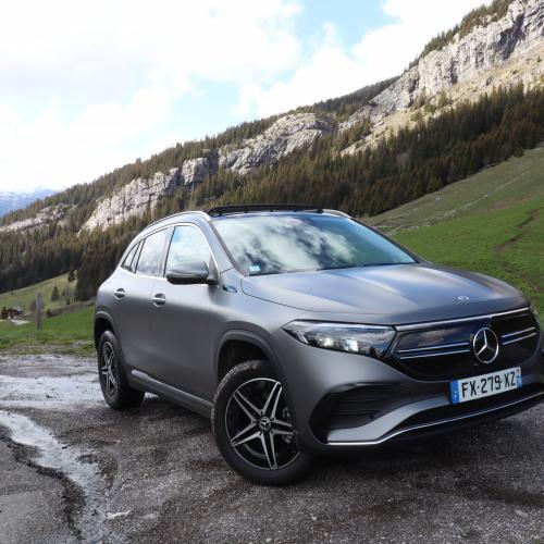 Essai Mercedes EQA (2021) | Les photos de notre essai de la version 100 % électrique du GLA