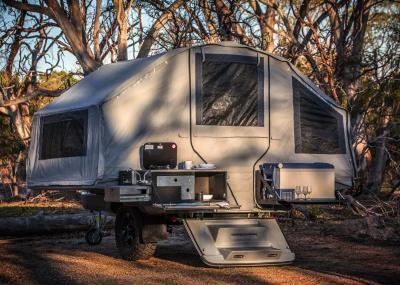 Kerfton Camper Trailer | les photos de la remorque tout-équipée