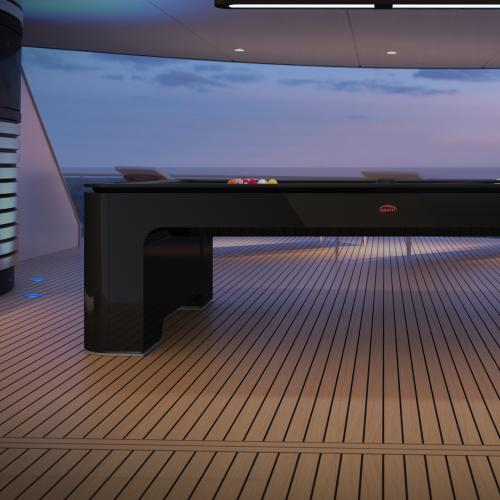 Bugatti | les photos de la table de billard à 250.000€