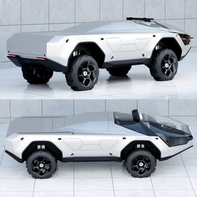 Pandemax Vehicle Concept | Les images du showcar au format numérique
