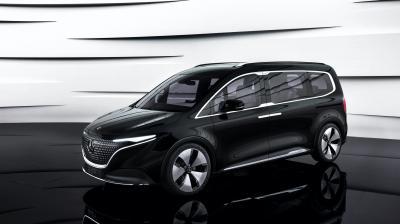Mercedes Concept EQT | Les photos du showcar 100% électrique