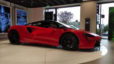McLaren Artura | nos photos de Ła supercar hybride rechargeable
