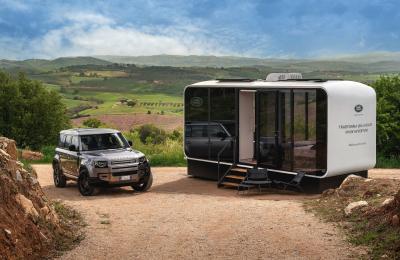 Defender Eco Home | Les photos du mobil-home Land Rover x Airbnb