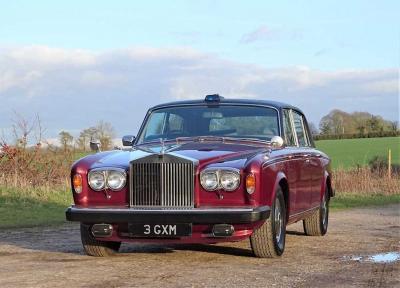 Rolls-Royce Silver Wraith II | Les photos de la limousine de la princesse Margaret