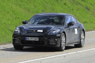 Porsche Panamera (2022) | Les photos espion de la berline sportive