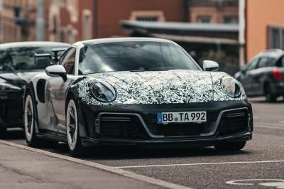Porsche 911 GTstreet R (2021) | Les photos espion du bolide allemand