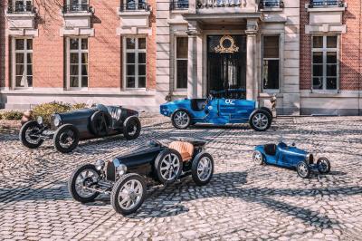 Bugatti Baby II | Les photos des premiers exemplaires livrés