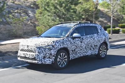 Toyota Corolla Cross (2021) | Les spy shots du crossover compact