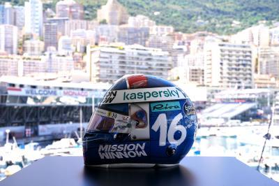Grand Prix de Monaco | le casque hommage de Charles Leclerc à Louis Chiron