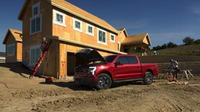 Ford F-150 Lightning (2022)   Les photos du truck électrique