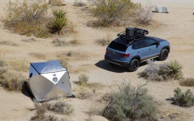 Volkswagen Taos Basecamp Concept | Les photos du show-car