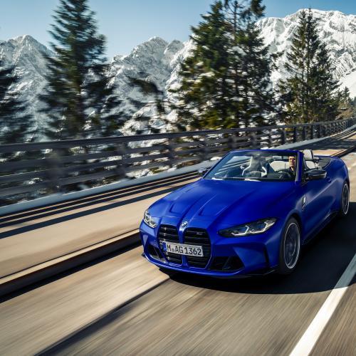 BMW M4 Competition Cabriolet (2021) | Les photos de la sportive décapotable