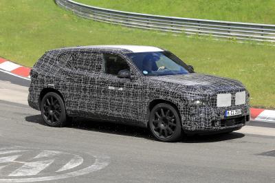 BMW X8 | Les premiers spy shots du SUV de luxe