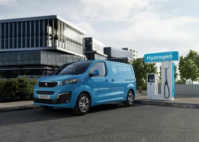 Peugeot e-Expert Hydrogen (2021)   Les photos de l'utilitaire à pile à combustible