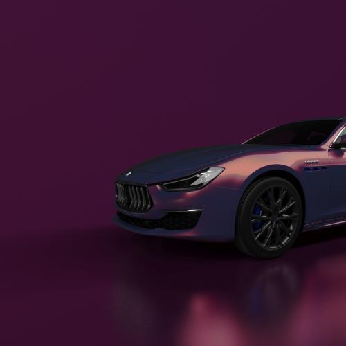 Maserati Ghibli Hybrid Love Audacious   Les photos de la berline en série limitée