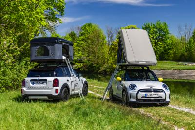 Mini Cooper SE et Countryman   Les photos des tentes de toit Autohome