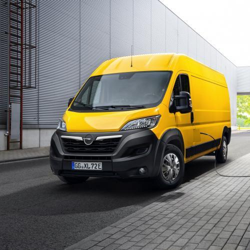 Opel Movano-e (2021)   Les photos du grand utilitaire 100% électrique