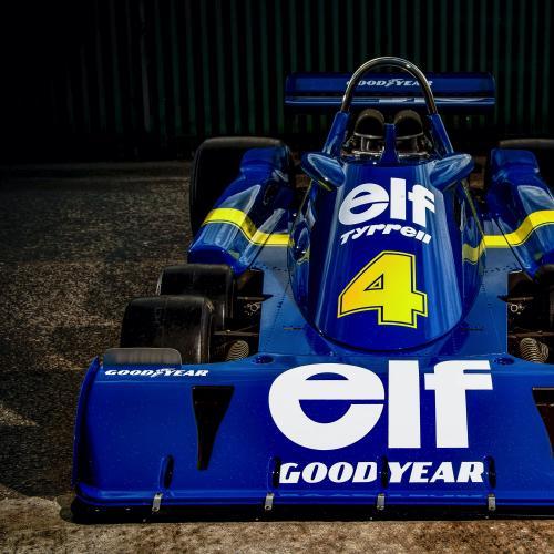 """Tyrrell P34 """"Continuation""""   Les photos de la Formule 1 à vendre"""
