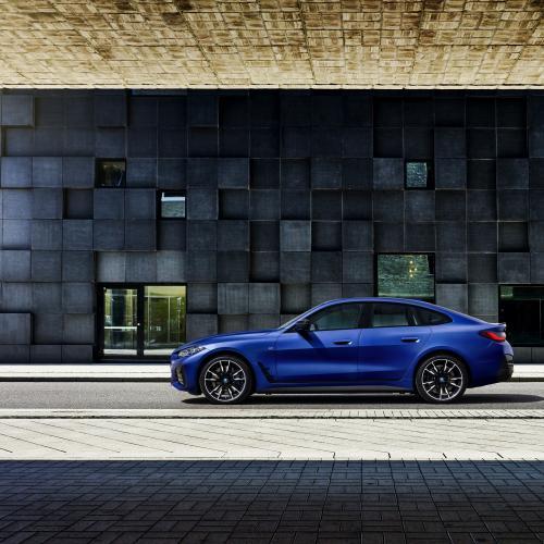 BMW i4 (2021) | Les photos des deux versions de lancement