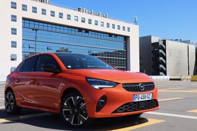 L'électrique au quotidien   Opel Corsa-e