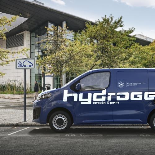 Citroën ë-Jumpy Hydrogen (2021)   Les photos de l'utilitaire à pile à combustible