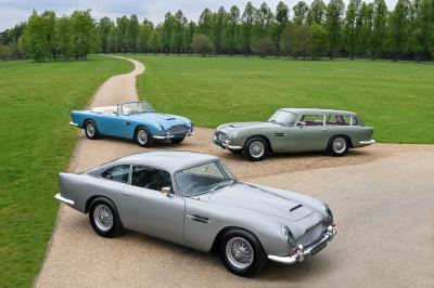 Aston Martin DB5 Vantage | Les photos du trio à vendre