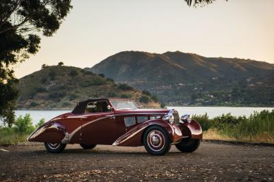 Bugatti Type 57 Cabriolet | Les photos de la voiture de collection