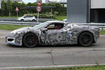 Ferrari Progetto F171 (2022) | Les photos du prototype