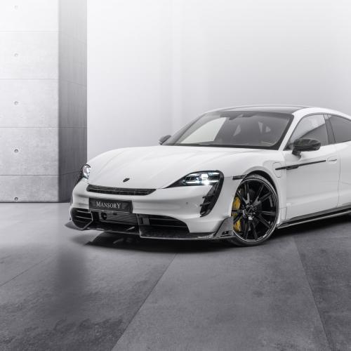 Porsche Taycan Turbo S by Mansory   Les photos de la berline électrique préparée