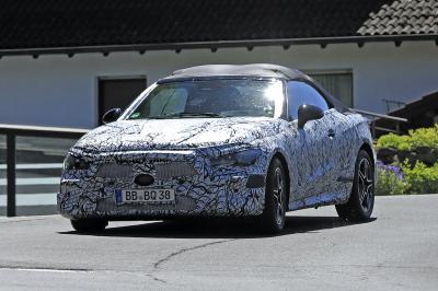Mercedes Classe C (2023) | Les photos espion des prototypes