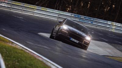 Porsche Cayenne Turbo Coupé (2022) | Les photos du SUV au Nürburgring