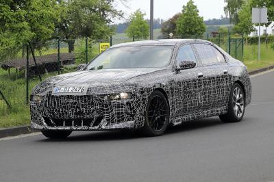 BMW Série 7 | Les spy shots de la berline de luxe