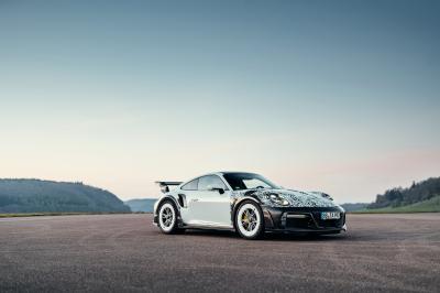 Techart GT Street R (2021)   Les photos de la Porsche 911 Turbo S préparée