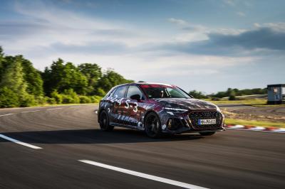 Audi RS3 (2021) | Les photos de la nouvelle bombinette aux anneaux