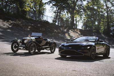 """Aston Martin Vantage Roadster """"A3""""   Les photos de la série limitée"""