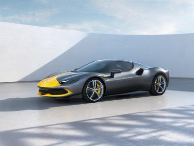 Ferrari 296 GTB (2021) | Les photos de la sportive italienne à moteur V6 hybride