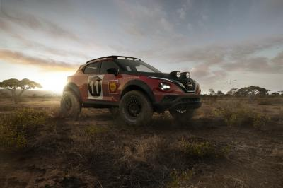 Nissan Juke Rally   Les images du concept-car hommage