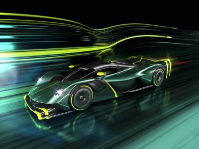 Aston Martin Valkyrie AMR Pro   Les photos de la voiture de piste