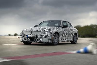 BMW Série 2 Coupé (2021) | Les photos officielles du coupé encore sous camouflage